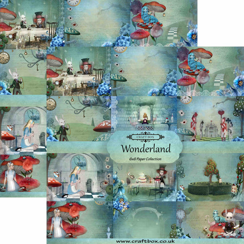 Wonderland 6x6 Paper Collection DUO