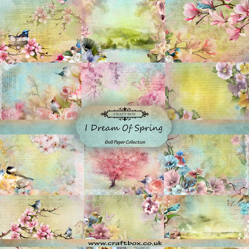 BACK IN! I Dream Of Spring 6x6 Paper Collection