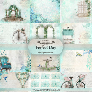 SALE: Perfect Day Paper Pad 6x6