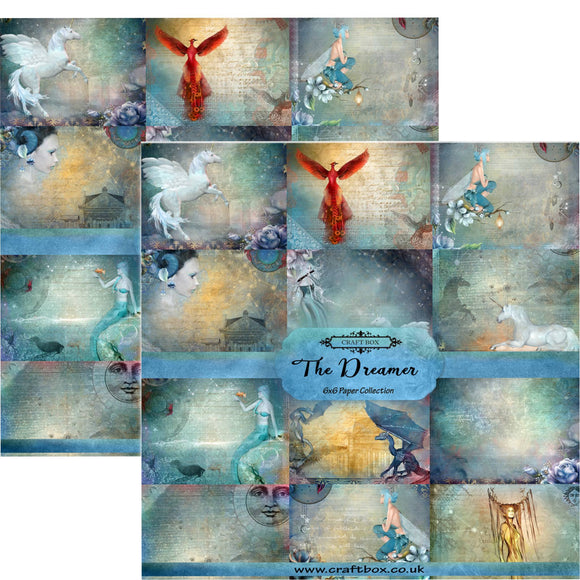 The Dreamer 6x6 Paper Pad - Duo Pack