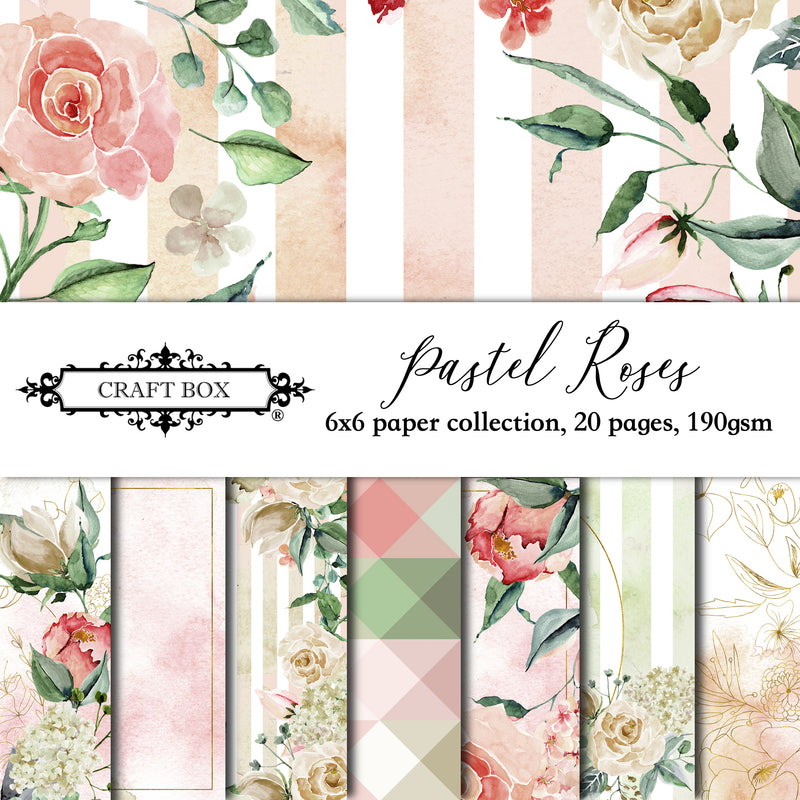 Pastel Rose Sheets Paper Pad (size options available)
