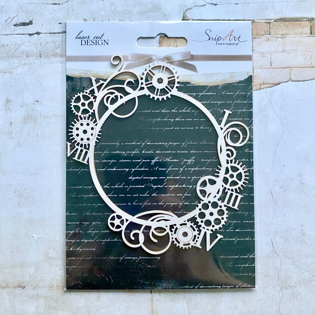 Steampunk Beauty Exclusive Chipboard by SnipArt