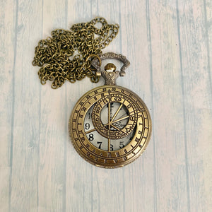 Large Pocket Watch: Astrology