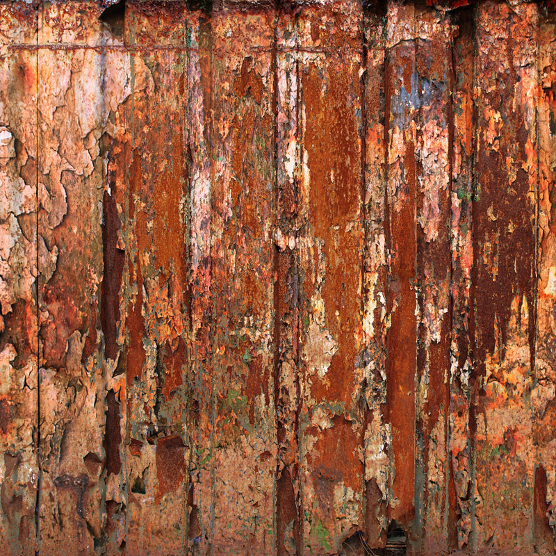 Rusty Metal Shades Paper Pad (size options available)