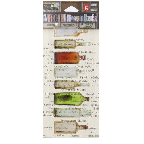 PREORDER - Architextures™ Findings - Found Glass Bottles Collection