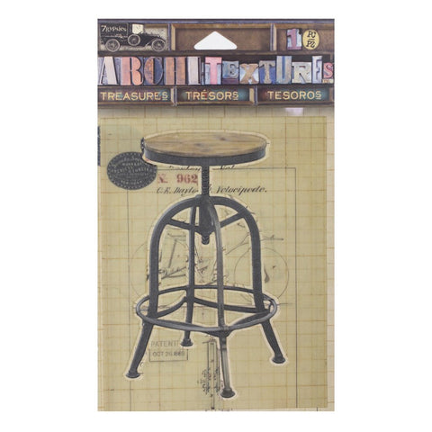 PREORDER - Architextures™ Treasures - Drafting Stool