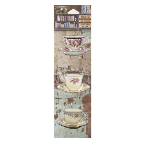 PREORDER - Architextures™ Trinkets - China Tea Cups