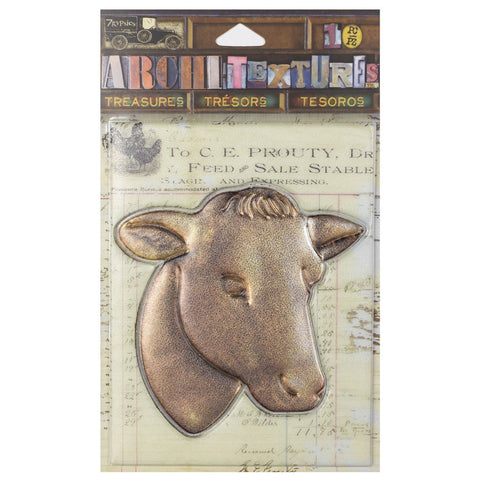 PREORDER - Architextures™ Treasures - Cow Head