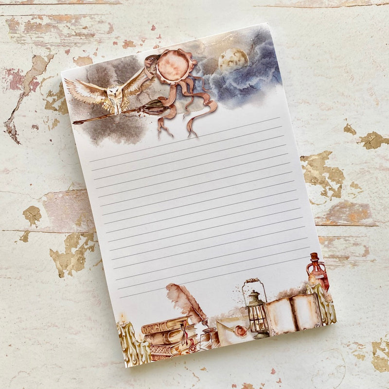 NEW! Stationery - School of Magic - A5 Notepad (SECONDS)