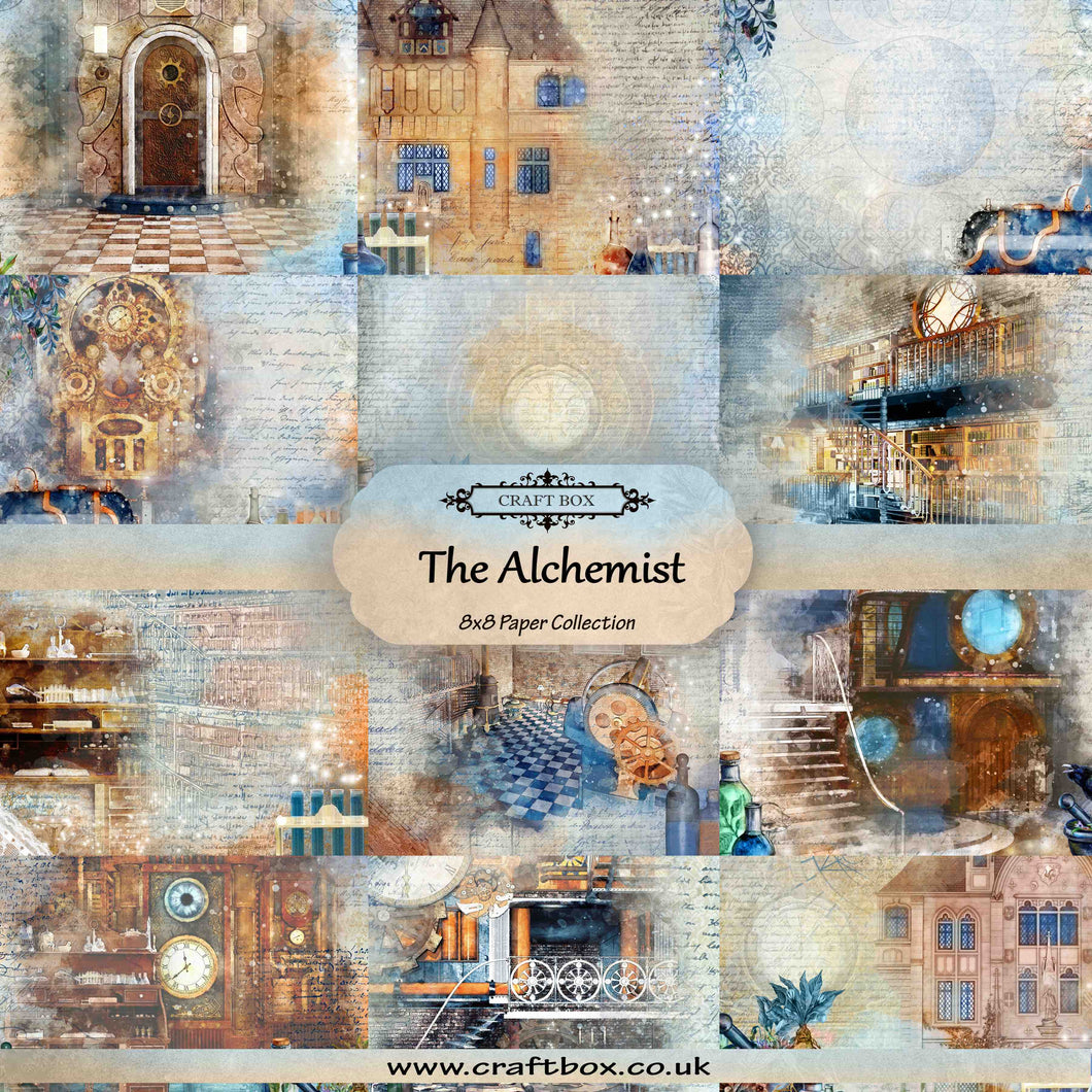 The Alchemist 8x8 Paper Collection