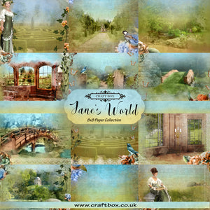 March Savers: Jane's World 8x8 Paper Collection