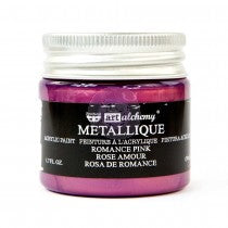 Art Alchemy Metallique Acrylic Paint - Romance Pink