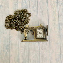Load image into Gallery viewer, Medium Pocket Watch: Sewing Machine