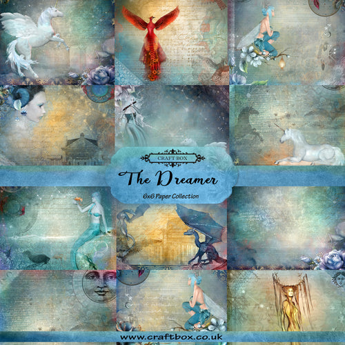 SALE: The Dreamer 6x6 Paper Pad
