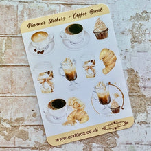 Load image into Gallery viewer, NEW! Planner Stickers - Coffee Break