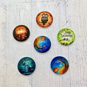 March Savers - Halloween Cabochons