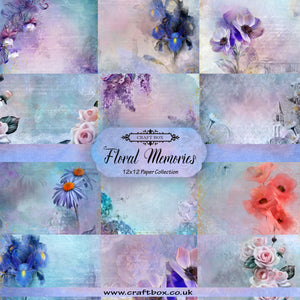SALE: Floral Memories 12x12 Paper Collection