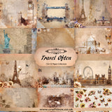 Travel Often 12x12 Paper Collection