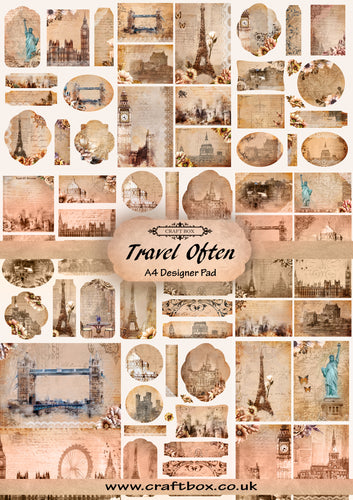 Travel Often A4 Creative Pad