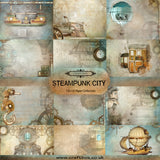 Steampunk City 12x12 Paper Collection