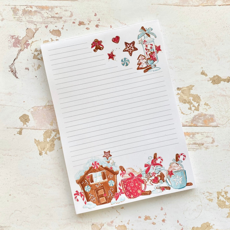 NEW! Stationery - Sweet Christmas - A5 Notepad