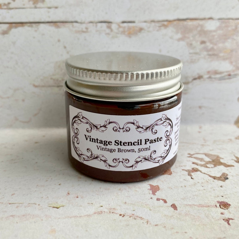 Limited Edition Stencil Paste - Vintage Set (non-shimmery)