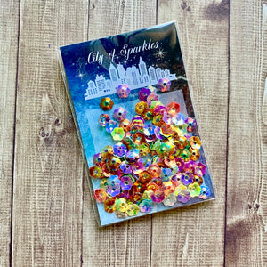 March Savers - Flower Rainbow Sequins
