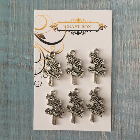 Itsy Bitsy Event - Signpost Charms