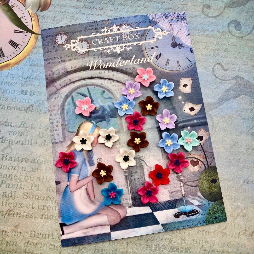 Wonderland Collection - Resin Flowers