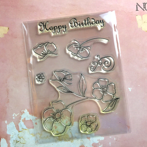 Crafting Together Stamp Set - Happy Birthday