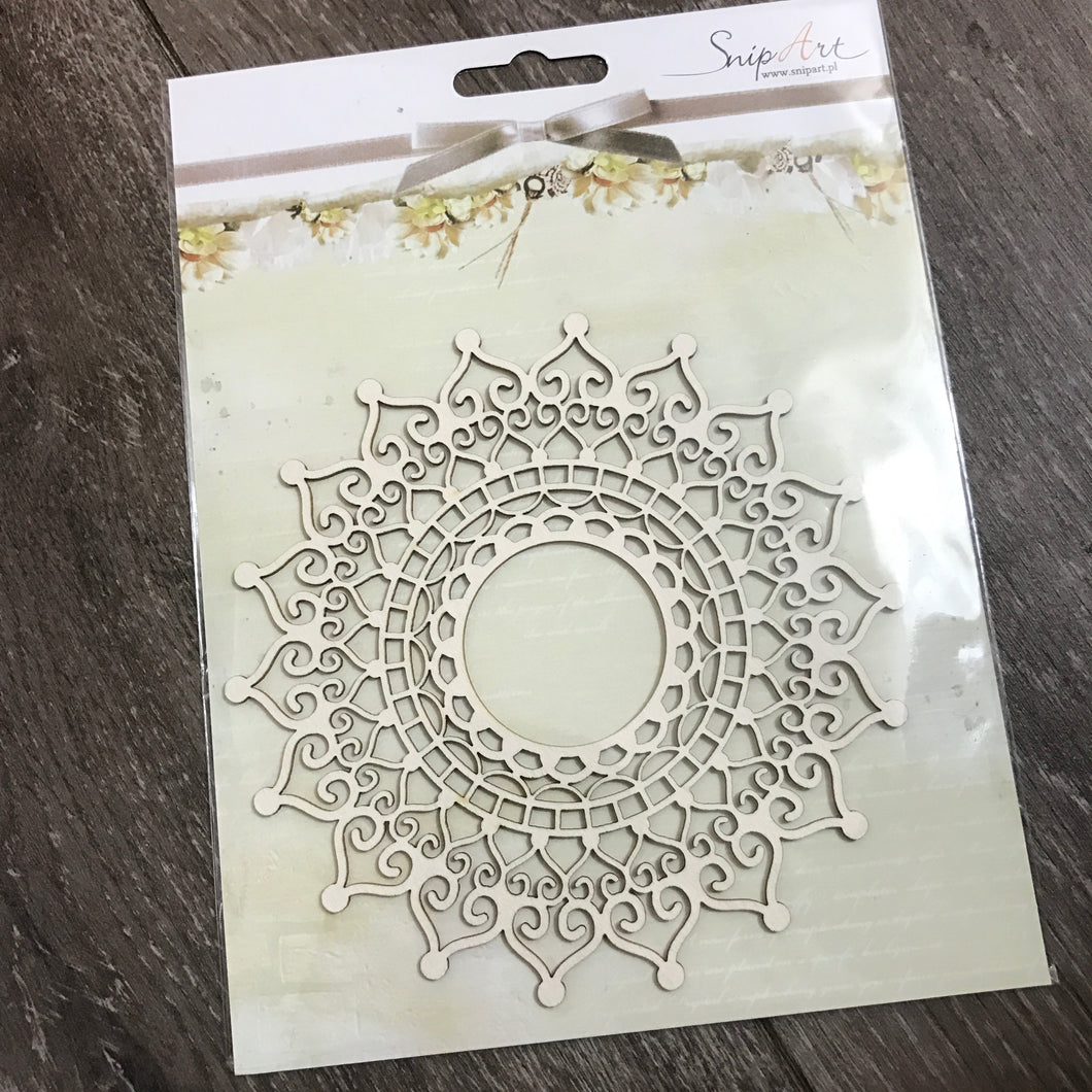 SnipArt Cut-out: Large Doily