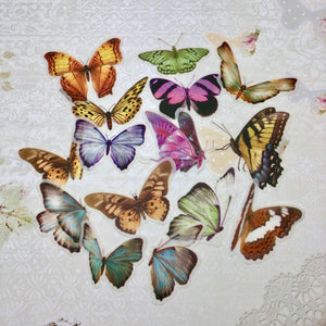 Butterflies Washi Stickers