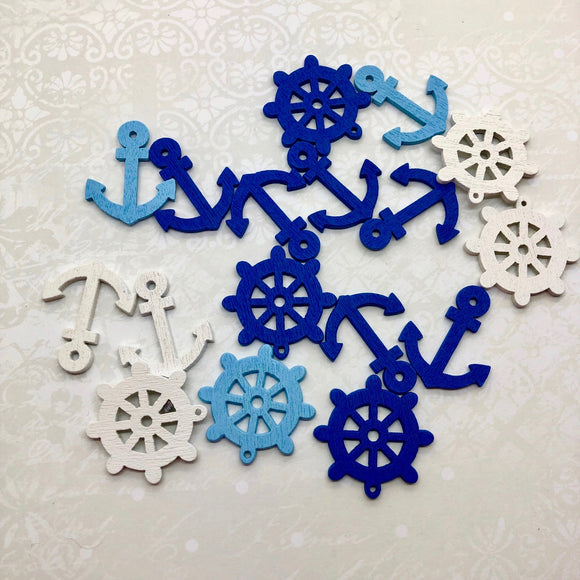 Seaside Stories - Wooden Sea Embellishments