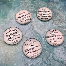 Load image into Gallery viewer, Quote Cabochons
