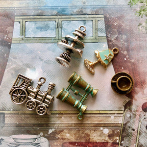 Orient Express - Set of Charms