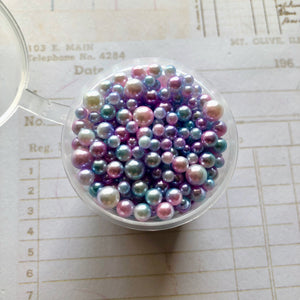 Orient Express - Large pot of ombre pearls