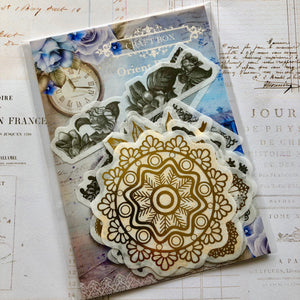 Orient Express - Ornate Washi Stickers