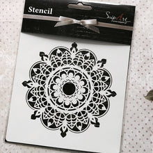 Load image into Gallery viewer, SnipArt Stencil: Mandala 1