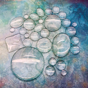 Glass Cabochons Treasure Pot