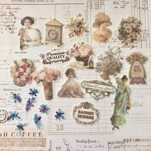 Junk Journalling Vintage Lady Pack