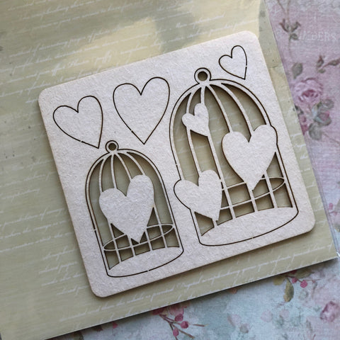 SnipArt - Heart Cages (M)