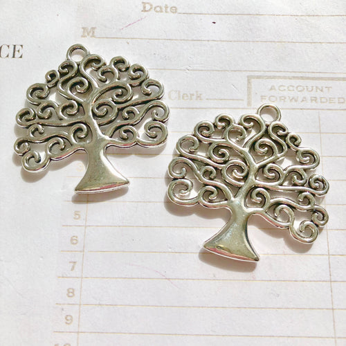 Silver Trees x2
