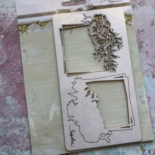 SnipArt - BITD Floral Frame 2 Layers (L)