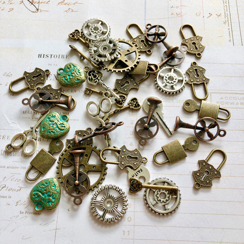 Steampunk Charm Mix