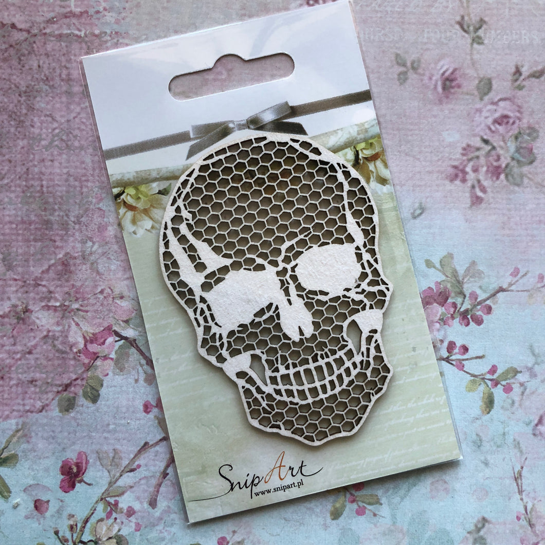 SnipArt - BITD Small Honeycomb Skull (S)