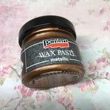 Pentart Metallic Wax - Brass