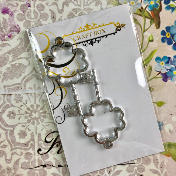 Alice Collection - Clover Keys Silver