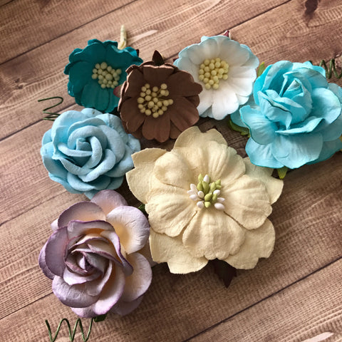 Craft Box Flowers - Colour Match