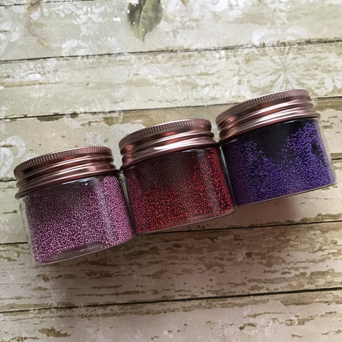 Micro Beads - Berry Set