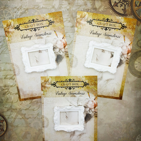 Craft Box mini ornate resin frame (3 pack)